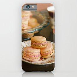 Tea & Macarons iPhone Case