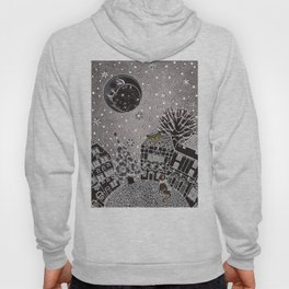 'Twas a Moonlit Winter Night Hoody