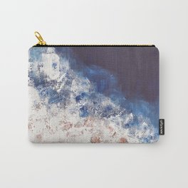 Abstract paintings ocean, pink navy, ink blue Carry-All Pouch
