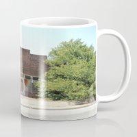history Mugs featuring History by durandurantulsa