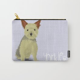A Dogs Life - Yorkie (Short Haired) Carry-All Pouch