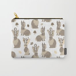 Jackalope Forest Carry-All Pouch