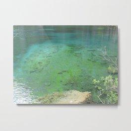 Grassi Lakes II Metal Print