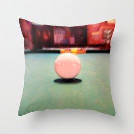 Cue Ball Throw Pillow