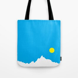 Mountain Sky Day Tote Bag