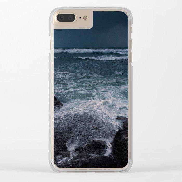 BEACH DAYS XXXIII Clear iPhone Case