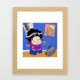 Homie? Framed Art Print