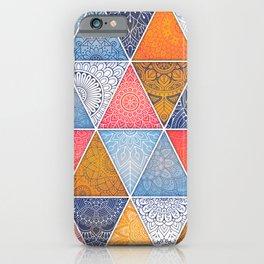 Pattern Mandala Losange iPhone Case