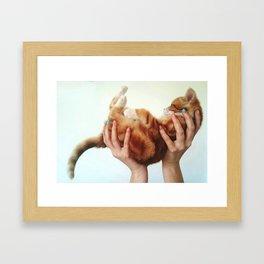The champ Framed Art Print