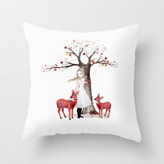 A Winter's Tale Christmas Throw Pillow