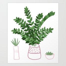 ZZ House Plant Art Print