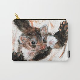 Stone marten realistic Carry-All Pouch