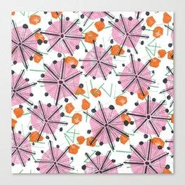 Umbrella Tops Canvas Print