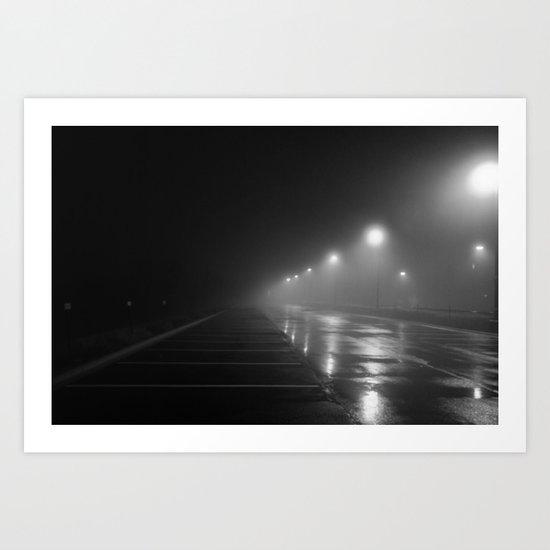 Noir Fog Art Print