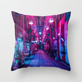 Entrance to the next Dimension Throw Pillow