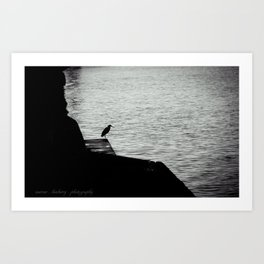 Sitting By The Dock Of The Bay Art Print