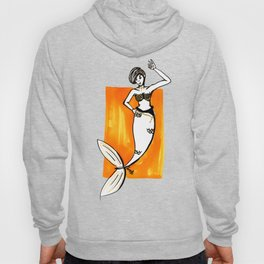 Golden Mermaid Hoody