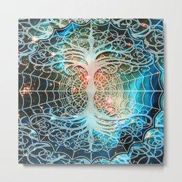 Tree of Life Web of Life Metal Print