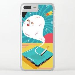 todo es humo Clear iPhone Case