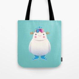 Cute Yeti Tote Bag