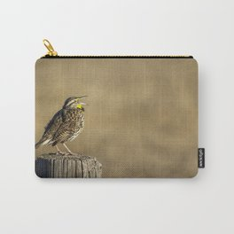 Song of a Meadowlark Carry-All Pouch