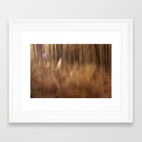 fern Framed Art Prints featuring Fern by Mina Teslaru