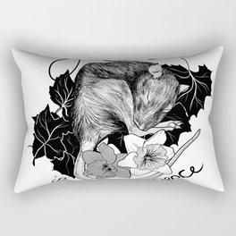 Rat in Peace Rectangular Pillow