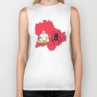 budapest hotel Biker Tanks featuring Budapest by Finah Ehsan