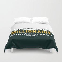Millionaire Ms Parker Duvet Cover