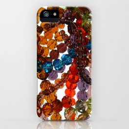 Purty Crystal Beads iPhone Case