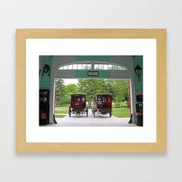 Grand Carriages II Framed Art Print