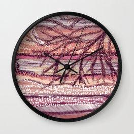 Rosen Waves Wall Clock