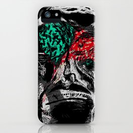 Pain Killers Masking Emotions Design iPhone Case
