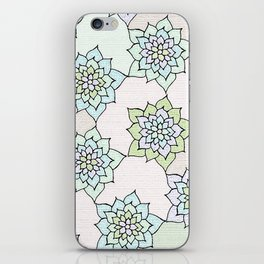 zakiaz white lotus iPhone Skin