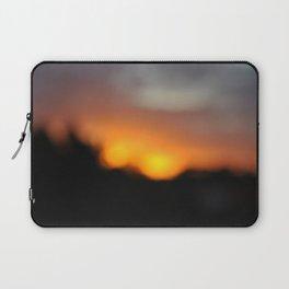Blurred Suns Laptop Sleeve