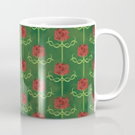 Spring Roses Pattern Coffee Mug