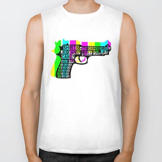 Guns and Candy Biker Tank