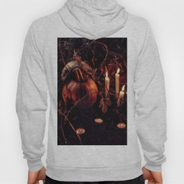 Pumpkins And Candles 1 Hoody
