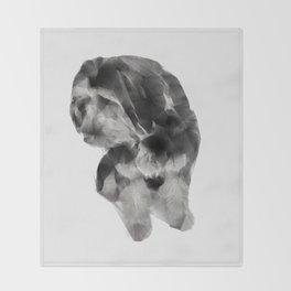 DOG II Throw Blanket