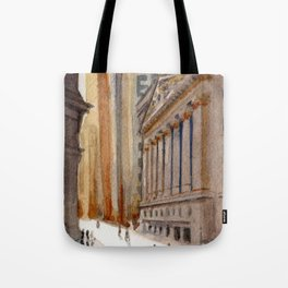 New York Stock Exchange Tote Bag