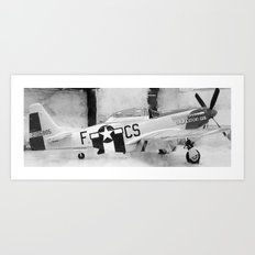 Galveston Air Museum III Art Print