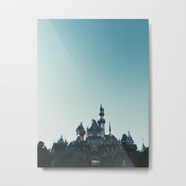 Disneyland at Dusk Metal Print