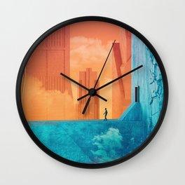 Cloudpools Wall Clock