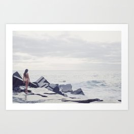 The end of the world as we know it Art Print
