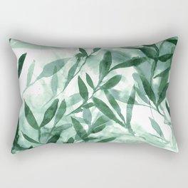 Changes Hunter Green Rectangular Pillow
