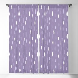 Stains Abstract Ultraviolet Blackout Curtain