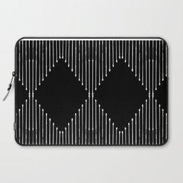 Geo / Black Laptop Sleeve