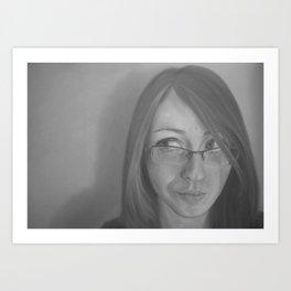 Zara Portrait Art Print