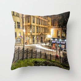 Vieux Lyon Throw Pillow