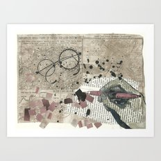 places to dream of Art Print